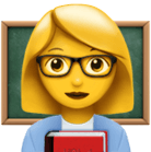 Teacher emoji